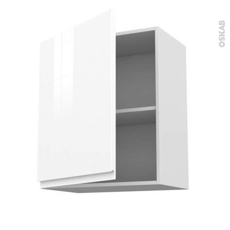 meuble de cuisine blanc brillant meuble de cuisine haut ouvrant ipoma blanc brillant 1