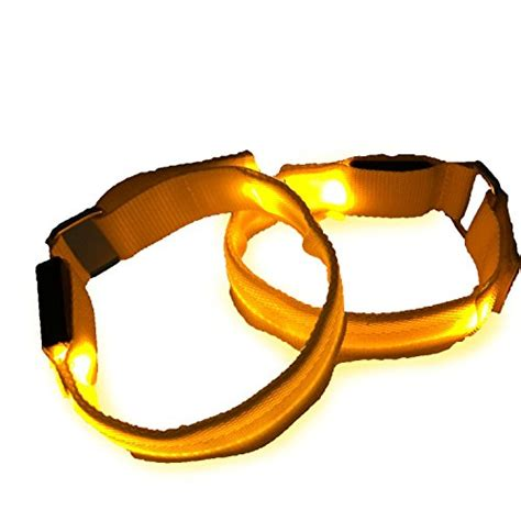 light for walking at night led sports armband flashing safety light for running