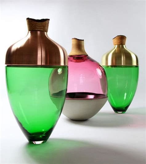 designer vase colored glass vases enhancing handmade decor accessories