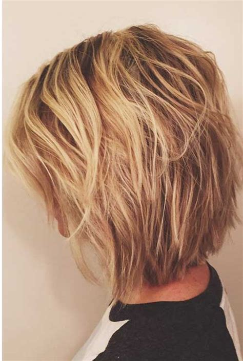 textured bob hairstyle photos short layered bob pictures short hairstyles 2017 2018