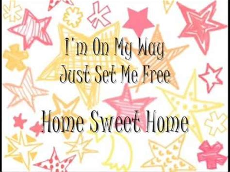 Home Sweet Home Lyrics by Carrie Underwood Home Sweet Home Lyrics