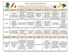 meal plan monday february 4 17 the nourishing home