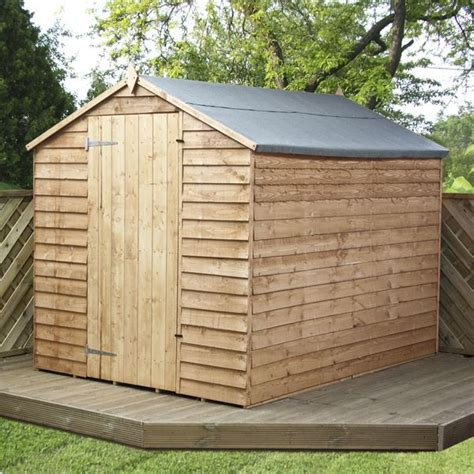 Windowless Shed by Shedswarehouse Oxford Flash Reduction 8ft X