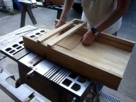 how to build a sled for table saw build a table saw sled woodworking for mere mortals