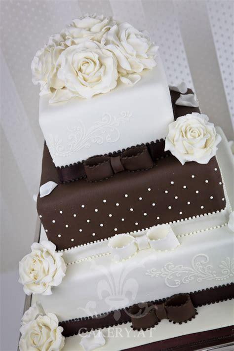 Hochzeitstorte Modern by Hochzeitstorte Brown Sensation The Cakery Torten