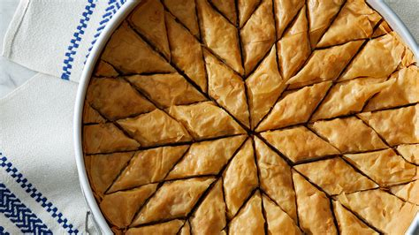 walnut  honey baklava