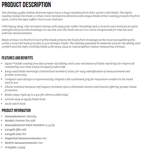 sle of description template product description 28 images prince2 174 product