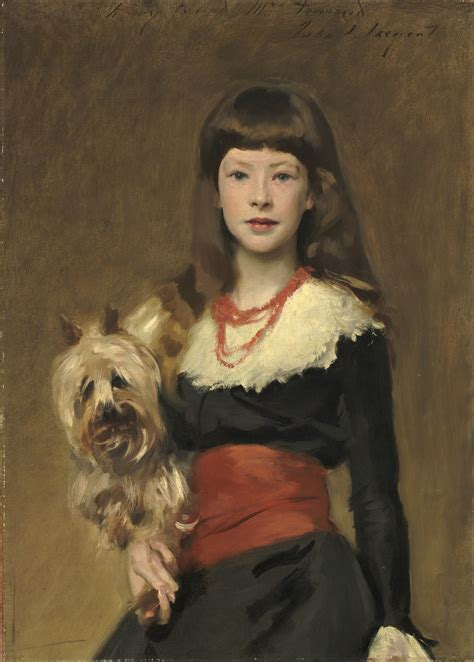 puppy singer an painting of a and by the artist singer sargent is also important