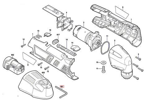 dremel parts diagram buy dremel 8300 f013830000 replacement tool parts