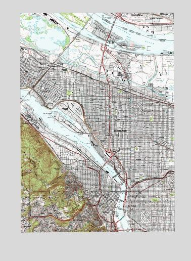 3d topographical map of oregon portland or topographic map topoquest