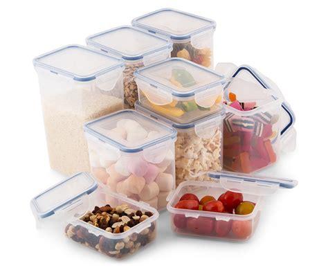 lock lock pantry classics airtight container set 9