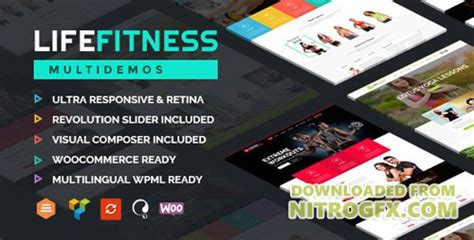 themeforest fitness themeforest life fitness v2 3 gym sport wordpress