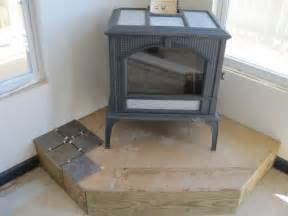 Soapstone Hearth Pad Bluegrass Mom S Perspective Woodstove Was Finally