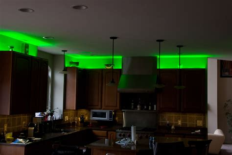 Above Kitchen Cabinet Lighting Ldir Rgb3 Rgb Controller With Ir Remote Led Controller Led Dimmers Led Light Strips