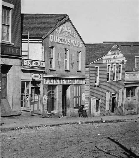 Atlanta Georgia Slave Auction House Photograph By Everett