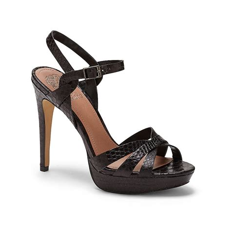 sandal high heels lyst vince camuto jessamae strappy platform high heel