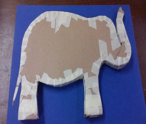 How To Make A Elephant Out Of Paper - diy how to make a papier m 226 ch 233 elephant the new york