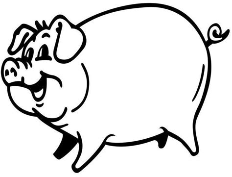 Coloring Page Of A Pig Pig Coloring Page by Coloring Page Of A Pig