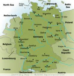 map of germany and cities map of major cities in germany germany maps germany and city maps