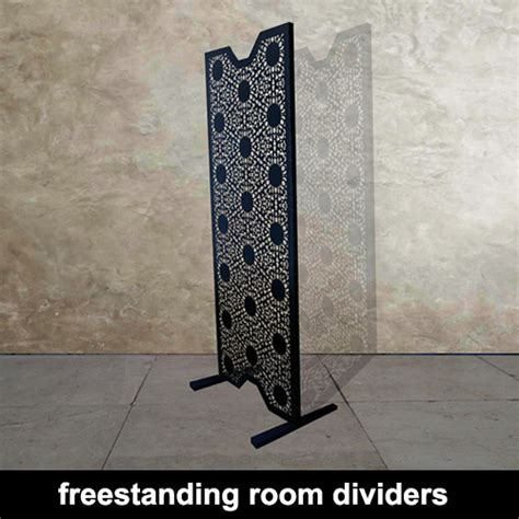 freestanding room divider decorative metal laser cut room dividers