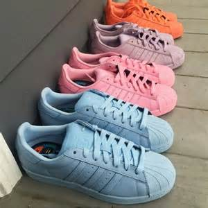 adidas color shoes addidas new superstar supercolors shoe crush