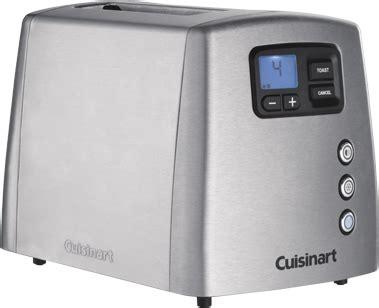 Cuisinart Tostapane by Cuisinart Tostapane 2 Fette Potenza 900 Watt 7 Livelli Di