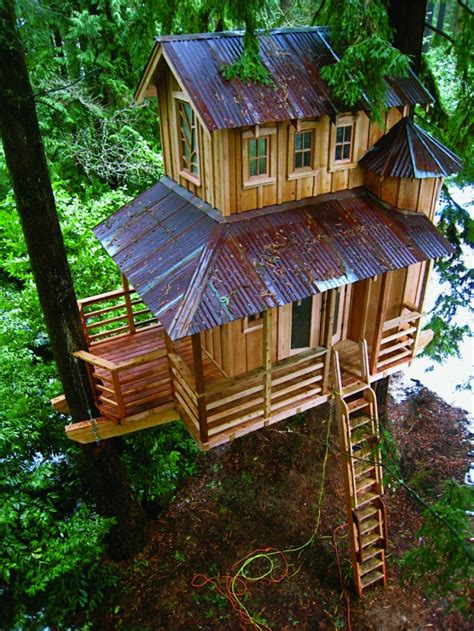 Cool Tree Houses | amazing cool tree house ideas home design