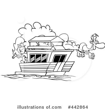 houseboat clipart black and white houseboats clipart clipground