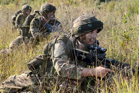 army sections reserve soldiers train in croatia gov uk