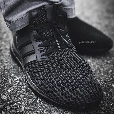 adidas ultra boost triple black adidas ultra boost 4 0 triple black sneakernews com