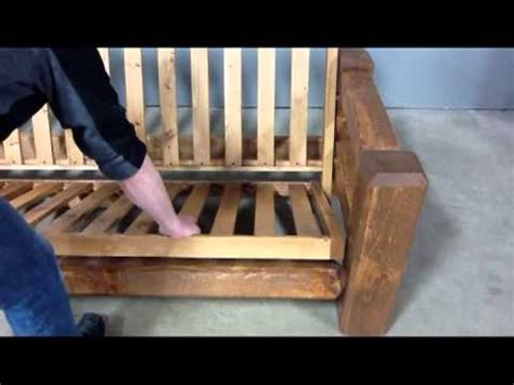 How To Put Together A Wooden Futon by How To Put Together A Futon Wooden Frame