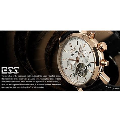 ess luxury leather automatic mechanical wm299 black gold jakartanotebook