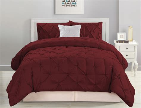 pinched pleat comforter 4 piece pinched pleat blue comforter set ebay