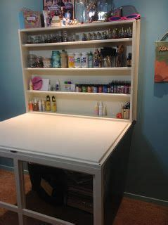 Small Craft Desk Drop Desk Great For A Small Craft Room Perhaps This Could Be The Cutting Table Creative