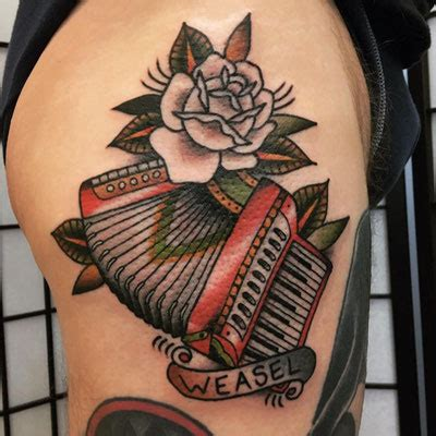 accordion tattoo 100 accordion flying tiger one