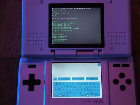 nintendo ds running dslinux bastiaan dslinux linux for the nintendo ds