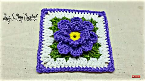 youtube tutorial crochet granny square crochet how to crochet flower granny square tutorial 171