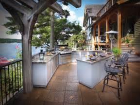 Out Door Kitchen by Optimizing An Outdoor Kitchen Layout Hgtv