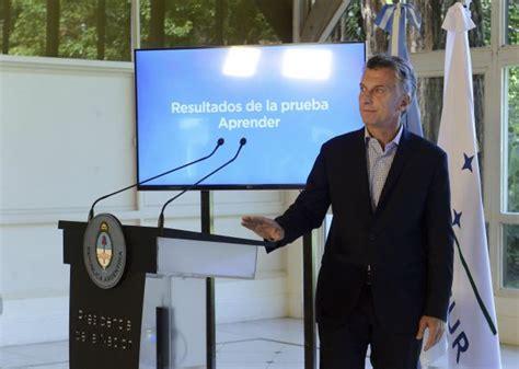 adicional que anuncio macri 2016 macri anunci 243 que los resultados del plan argentina