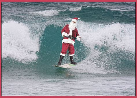 australia at christmas time head for the beach