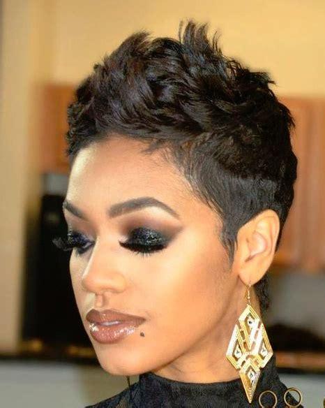 blonde pixie mohawks 50 short hairstyles for black women peinado de trenza