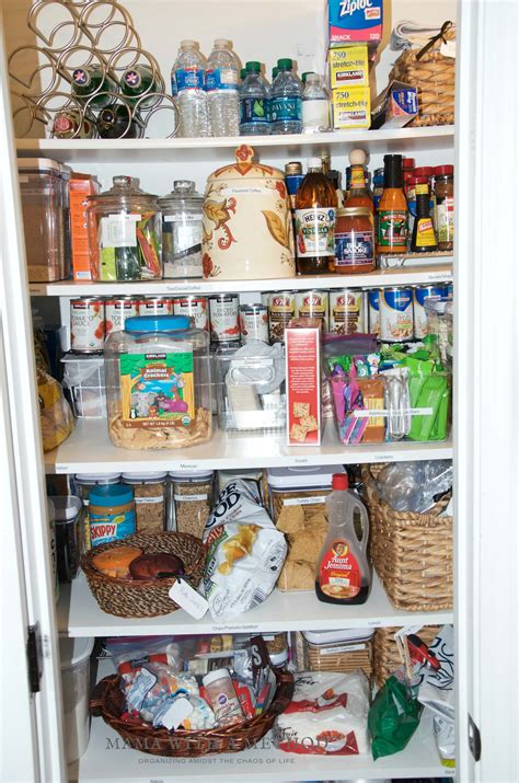 how to organize a pantry with deep shelves how to organize deep pantry shelves