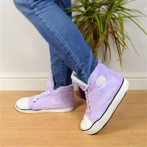 high top house shoes adult high top slippers purple find me a gift