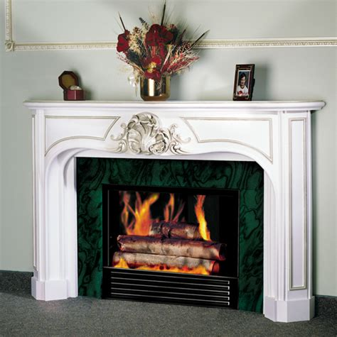 Gypsum Fireplace by 1942c Fireplace Mantel In Gypsum Cement