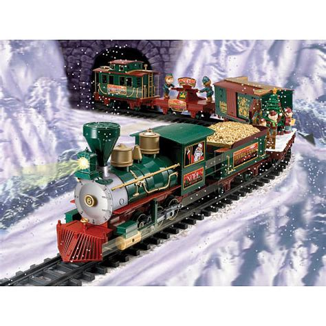 battery operated north pole christmas train set ricoda