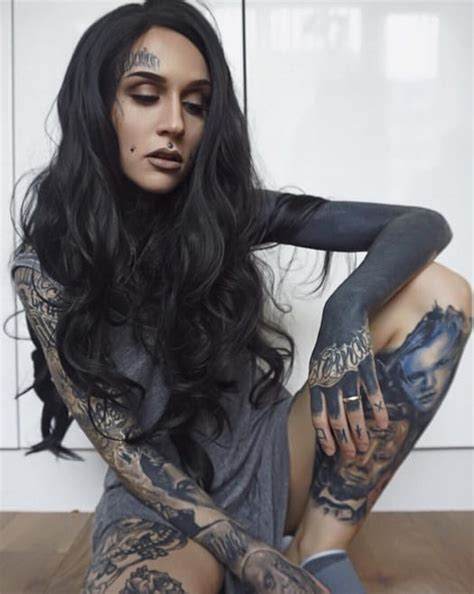 tattoo models on instagram none more black than blackout sleeve tattoos tattoodo