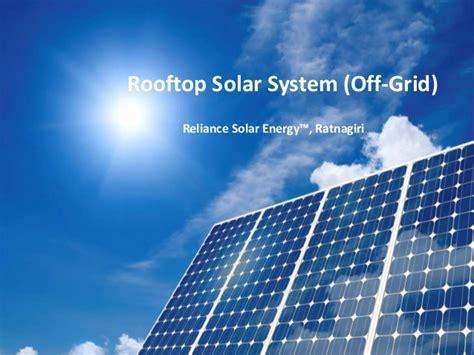 rooftop solar system rooftop solar systems