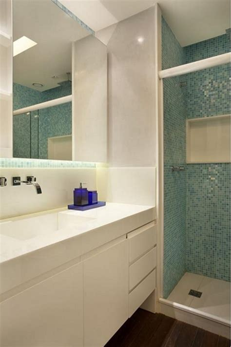 banheiro decorado muito pequeno como decorar banheiros pequenos