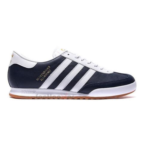 adidas leather shoes shoes adidas beckenbauer b34798 vintage sneaker man