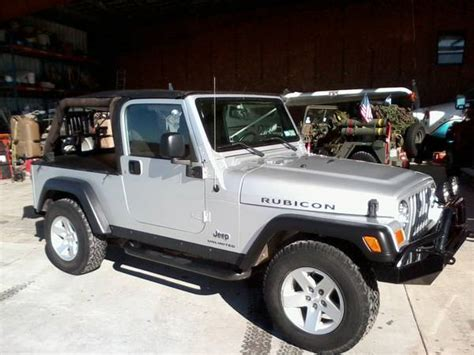 2005 Jeep Wrangler Unlimited For Sale 2005 Jeep Wrangler Unlimited Rubicon For Sale In San